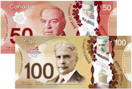 As If American Boaters Aren T Confused Enough By Canada S Strange Currency The Canadian Government Is Now Introducing New Plastic Bills